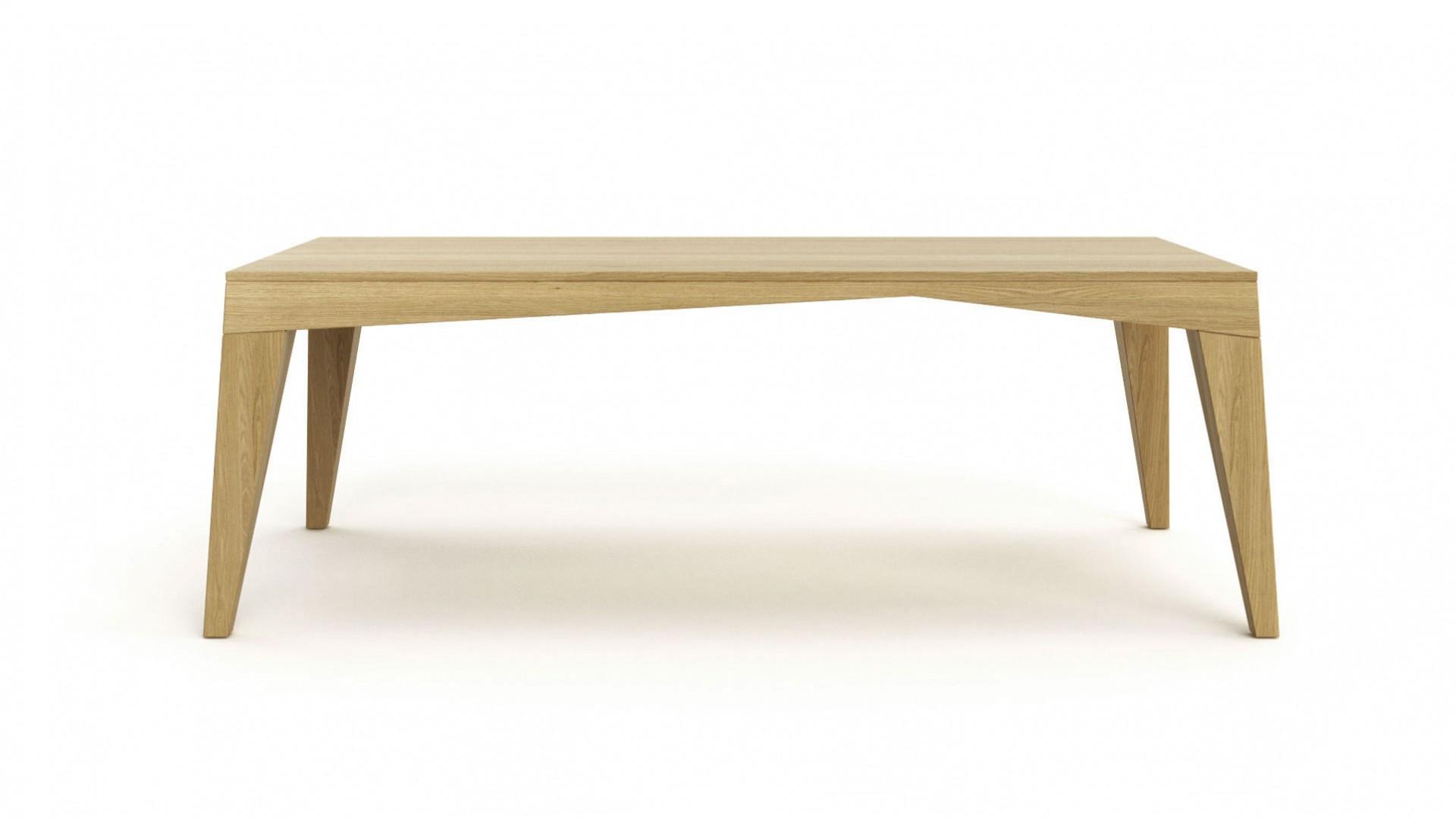Jedálenský stôl ROCK, masívny dub, jedálenský stôl z masívneho dreva, masívny dubový stôl, masívny drevený stôl cubica, moderný dubový stôl