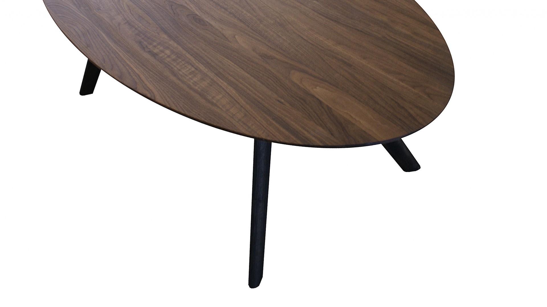 Jedálenský stôl ELYS, masívny orech, jedálenský stôl z masívneho dreva, jedálenský stôl cubica, masívny drevený stôl