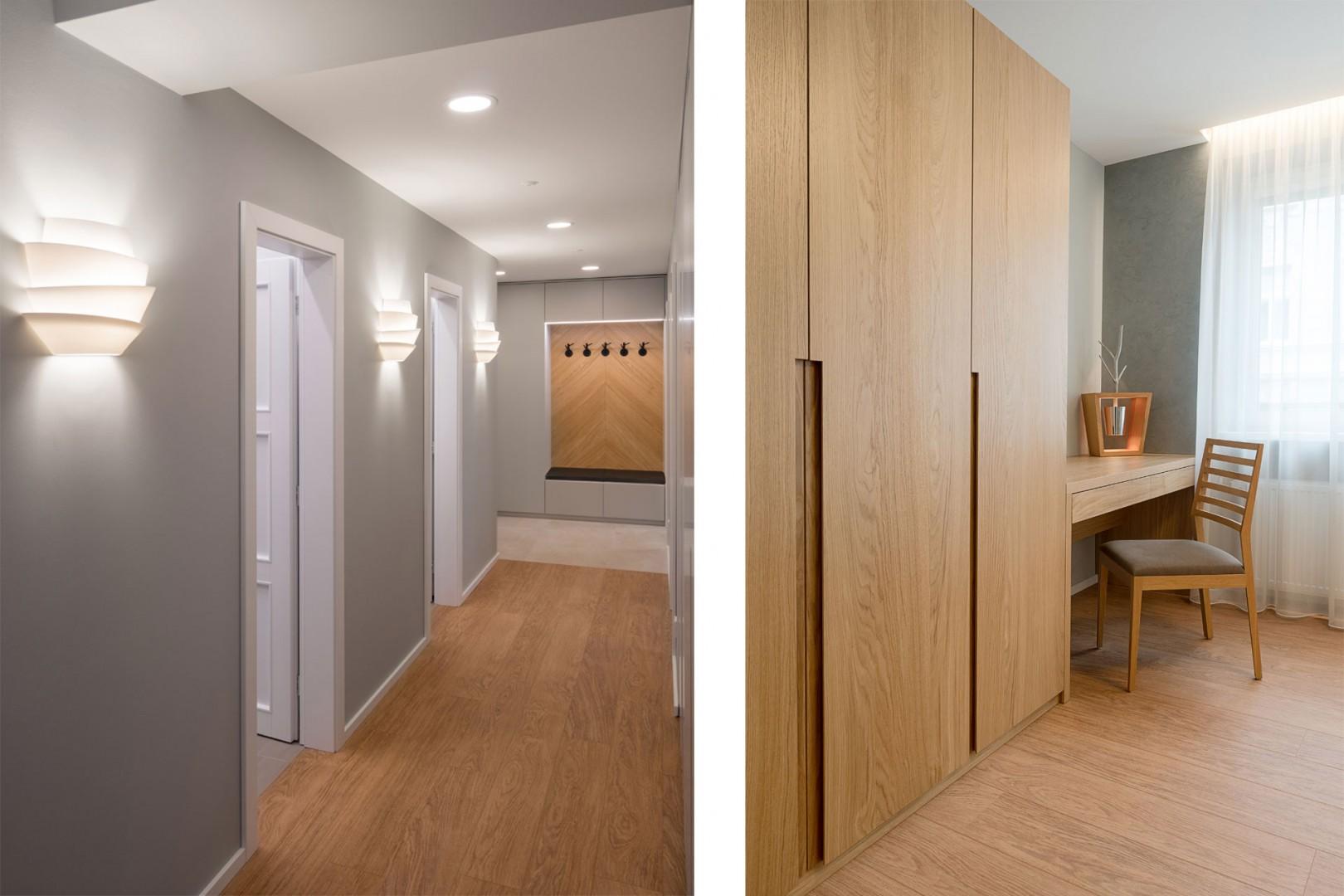 Design a realizácia interiéru bytu, kompletná realizácia , výroba nábytku a interiérových dverí na mieru