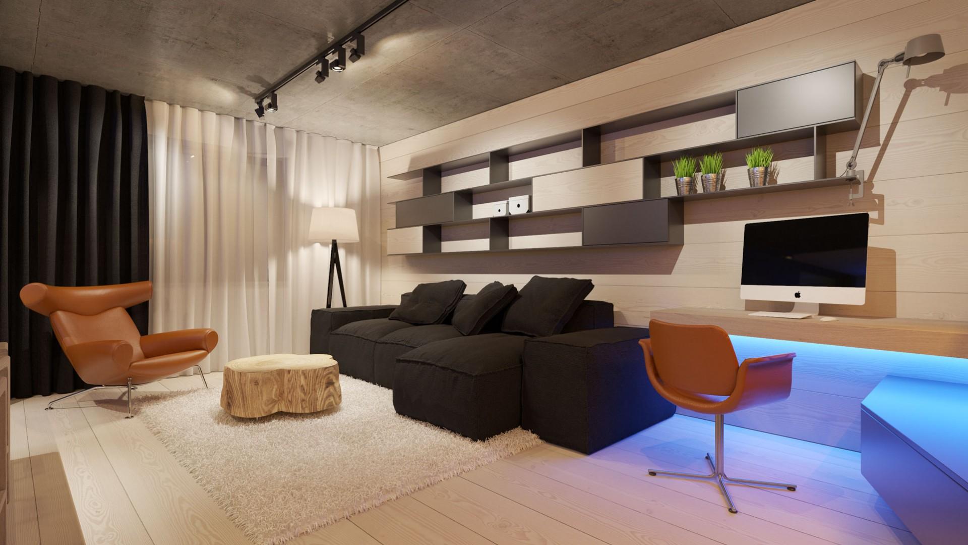 Návrh interiéru bytu v Banskej Bystrici