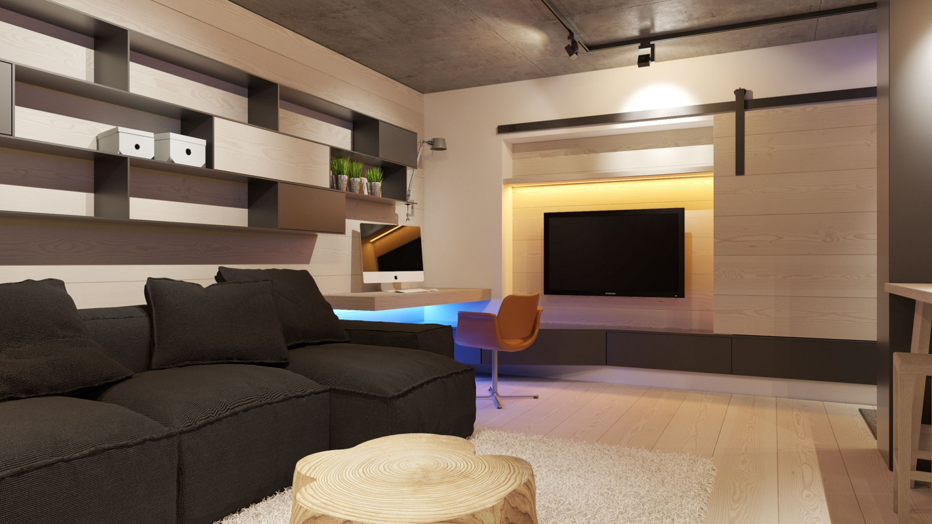 Návrh interiéru bytu Banská Bystrica