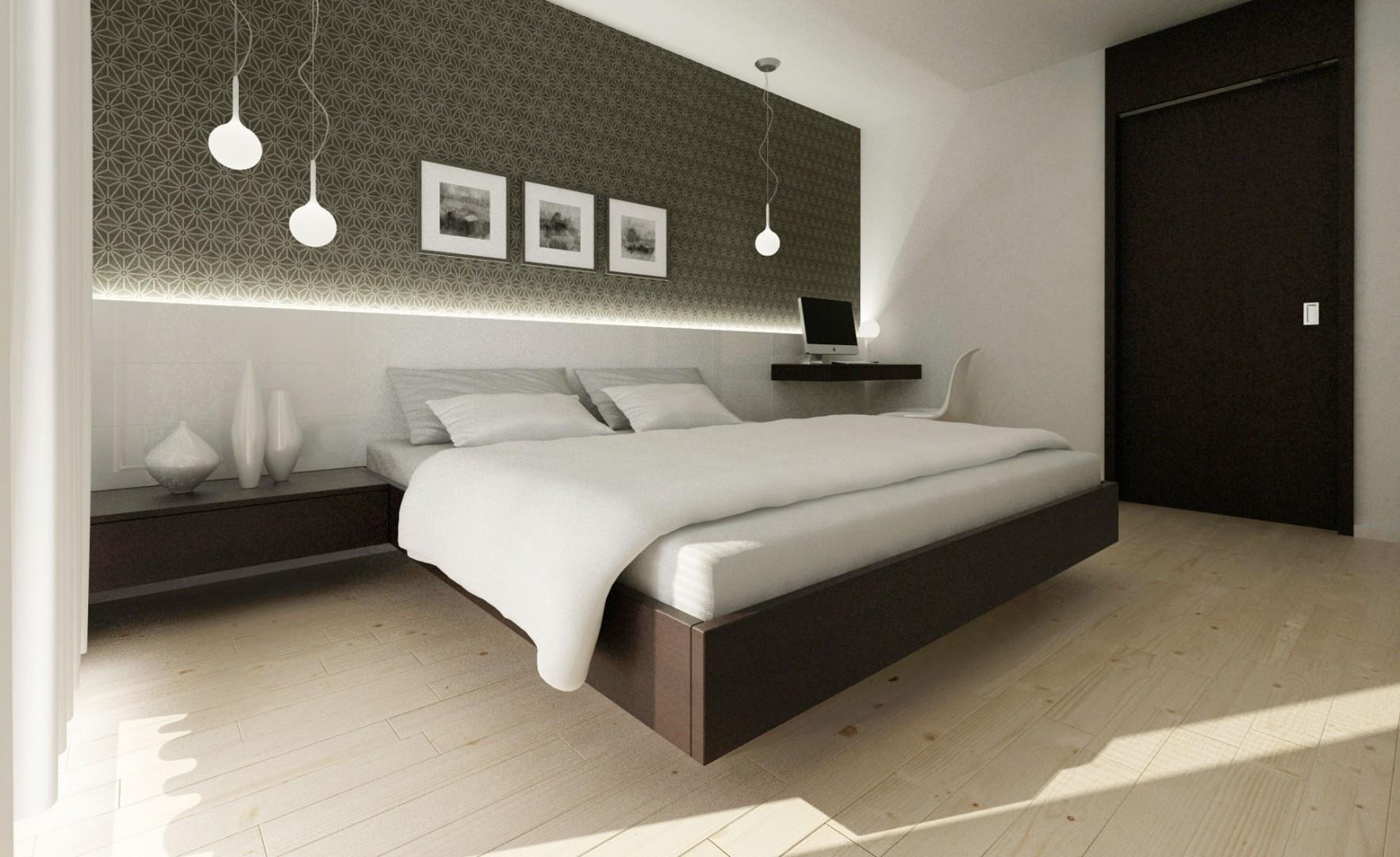 návrh interiéru bytu - spálňa