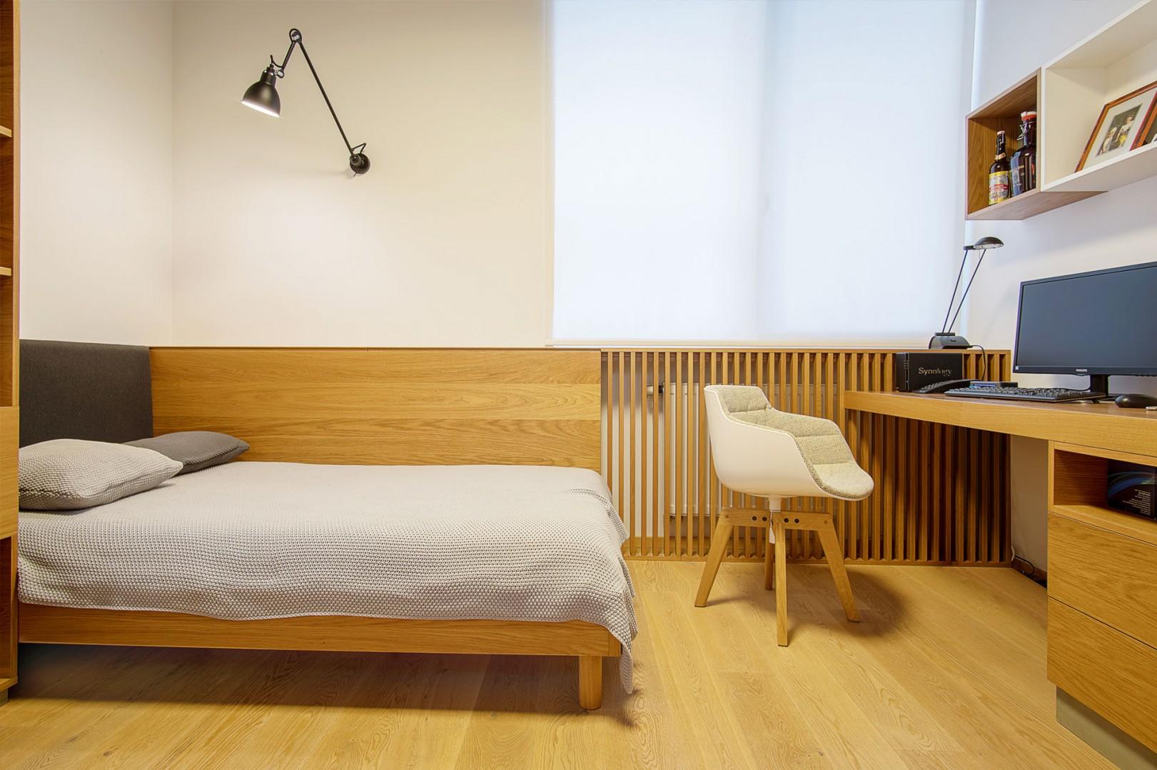realizacia interieru rodinneho domu - vyroba nabytku do studentskej izby na mieru