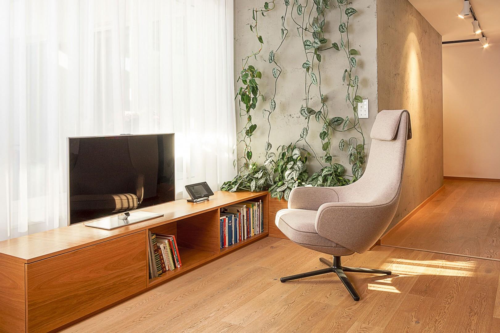 realizacia interieru rodinneho domu - vyroba nabytku na mieru