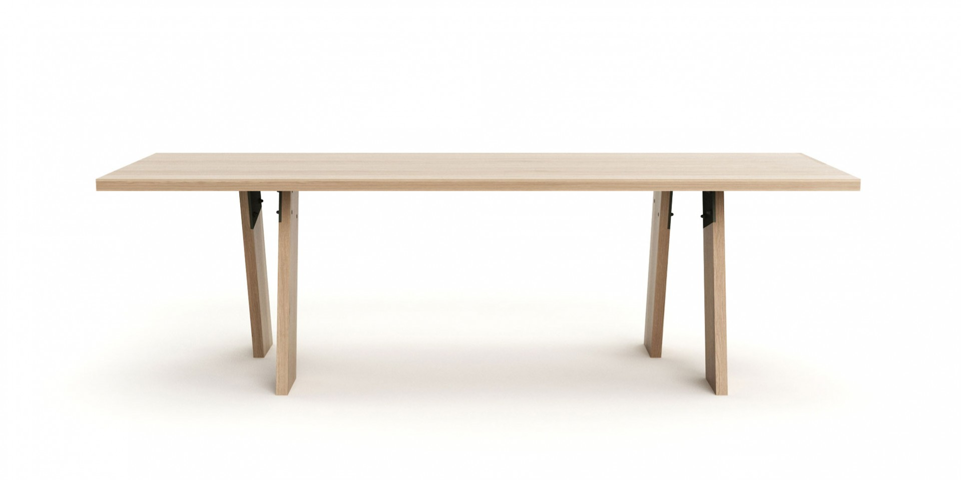 masívny dubový stôl, moderný dubový stôl
