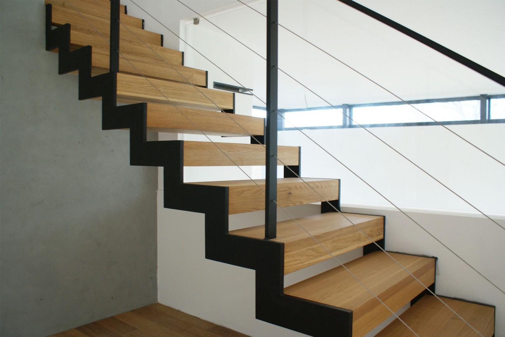 drevené schodisko na mieru cubica