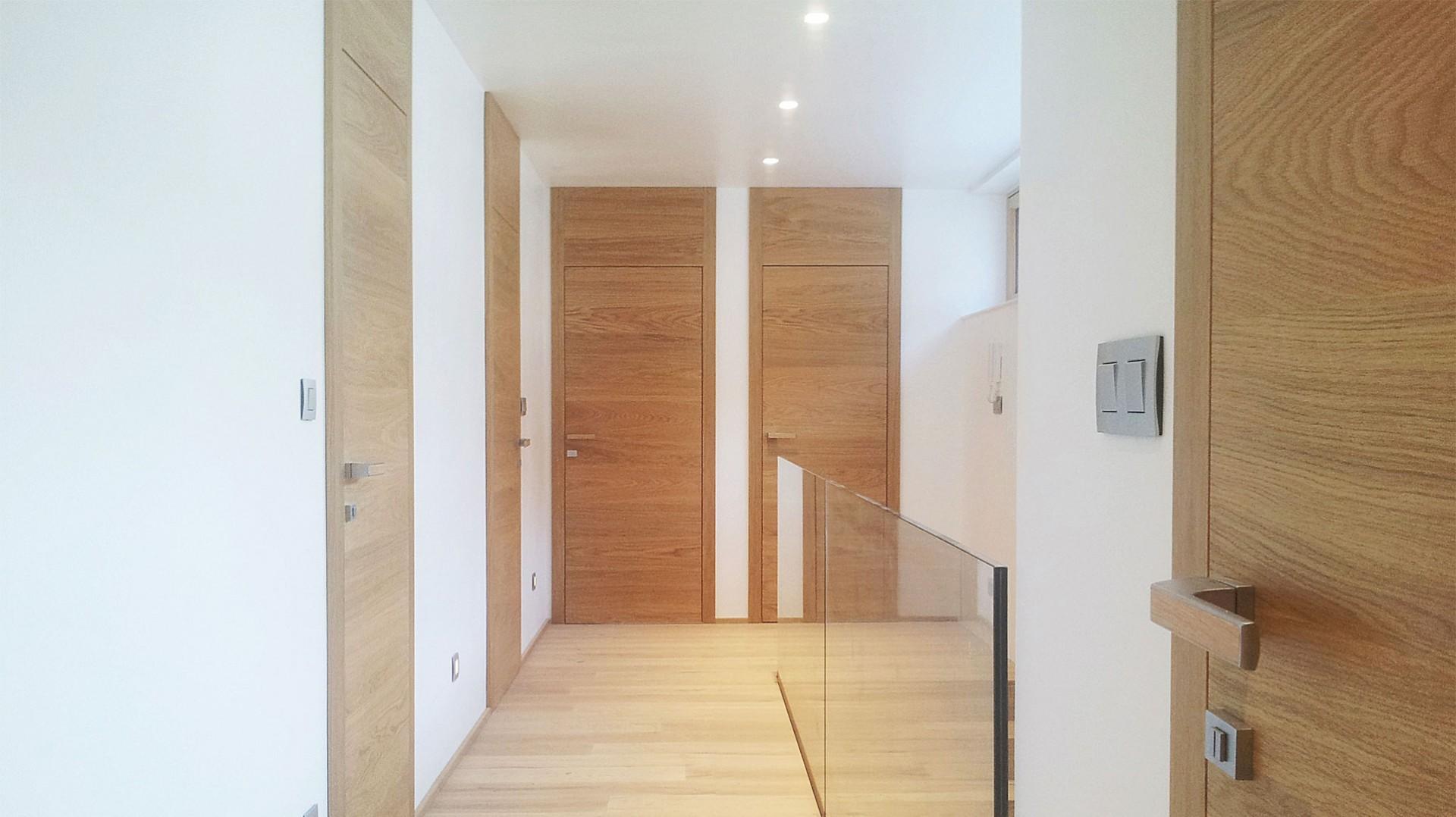 dubové interiérové dvere na mieru cubica