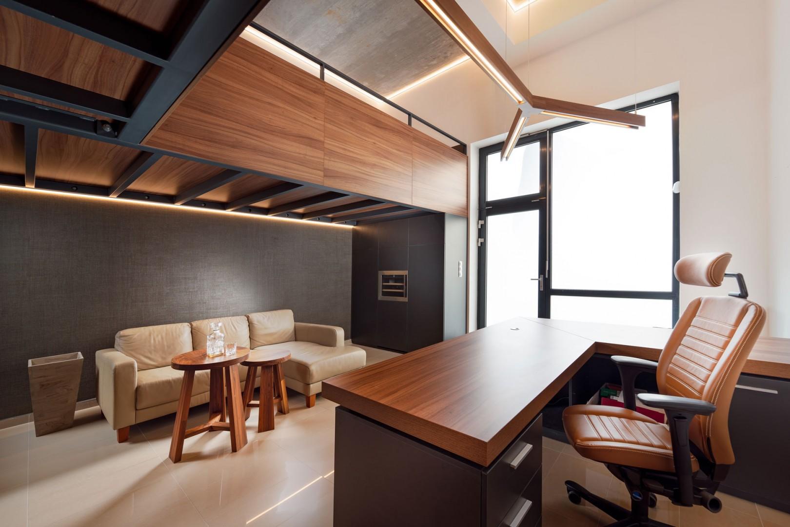 Návrh a realizácia interiéru - reprezentatívny loftový priestor